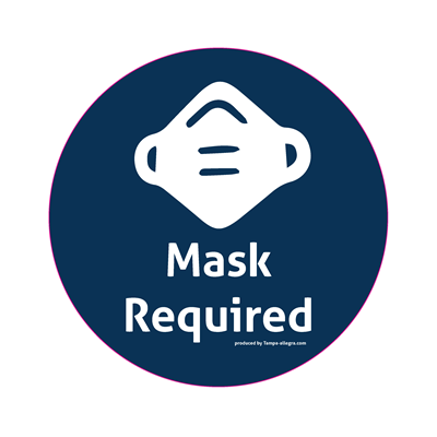 Mask Required Window Graphic